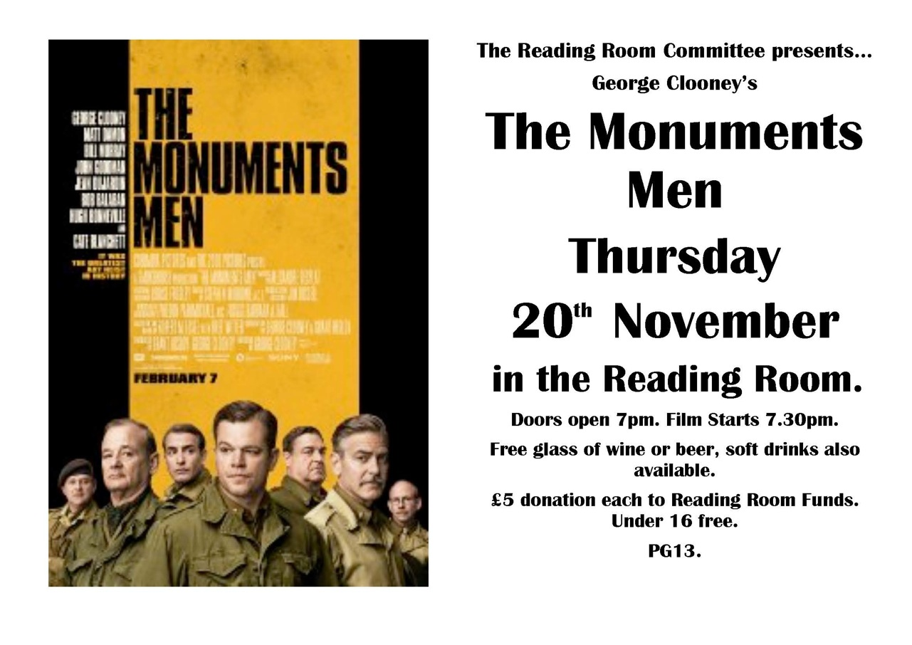 Berwick St James Parish The Monuments Men