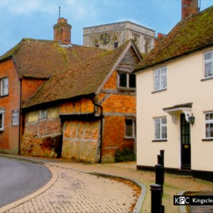 Falcon House and Brewery Cottage, Kingsclere