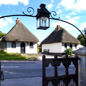 Cottages and Lantern