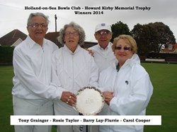 Harold Kirby Trophy Winners
