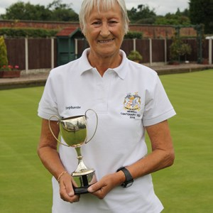 Over 65s winner Steph Greenwell