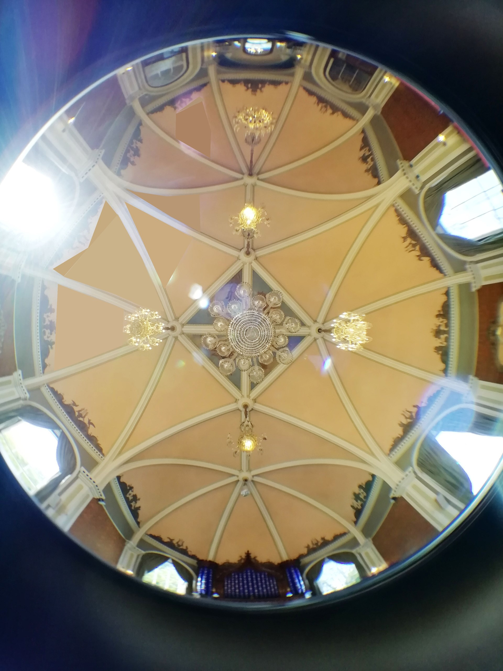 Music Room ceiling panorama