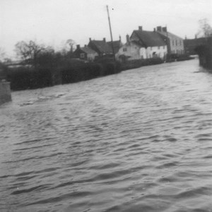 1947 Floods Kelmarsh Road