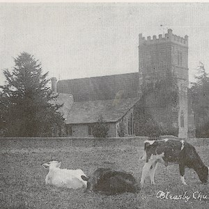 St Marys Church Bleasby c 1900
