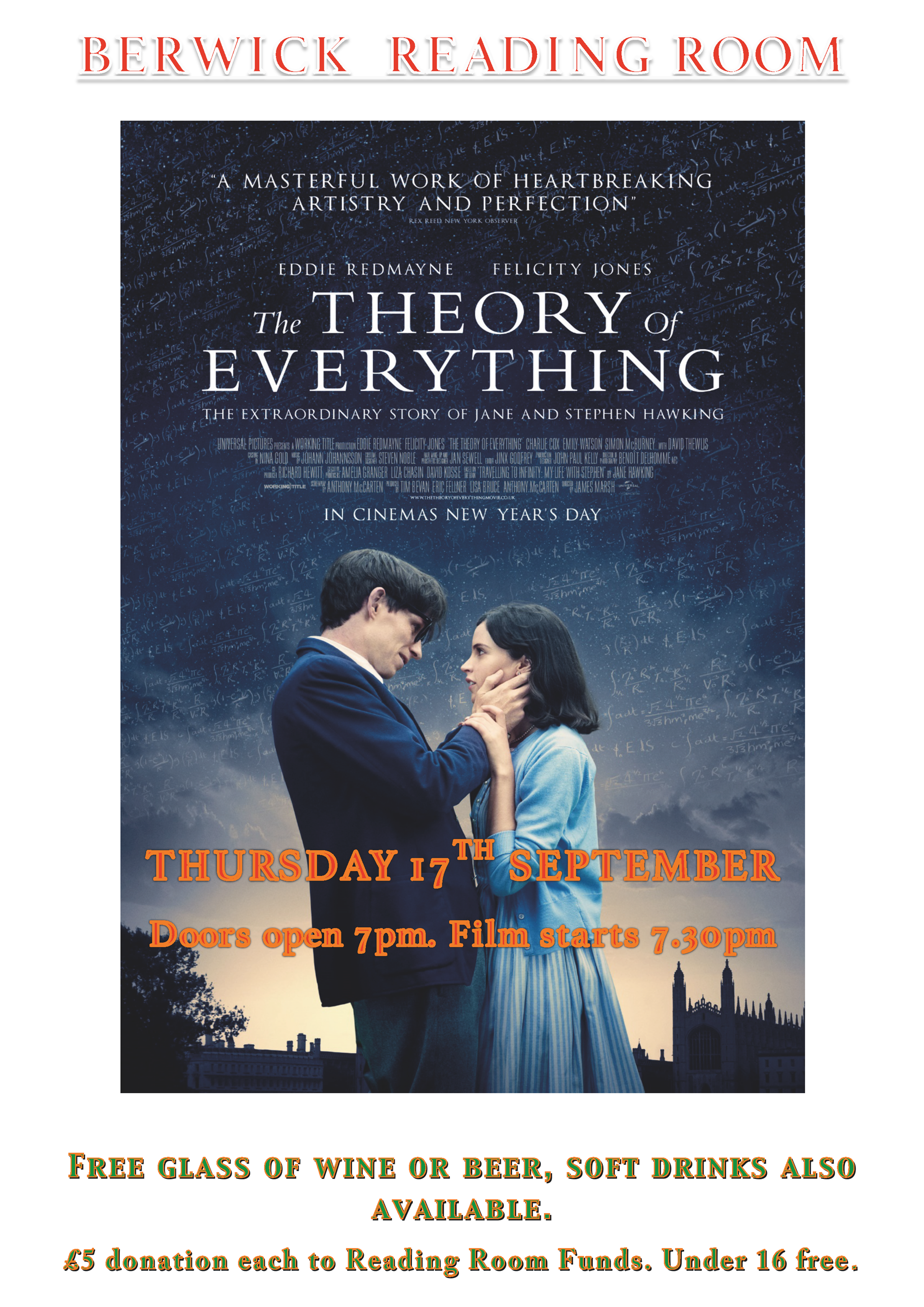 Berwick St James Parish The Theory of Everything