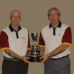 2004 GBA Pairs Winners. Mike Bishop, Eddie Kavanagh.