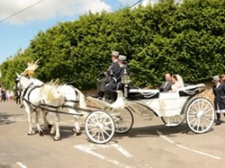 Little Wenlock Parish Council Village wedding July 2015
