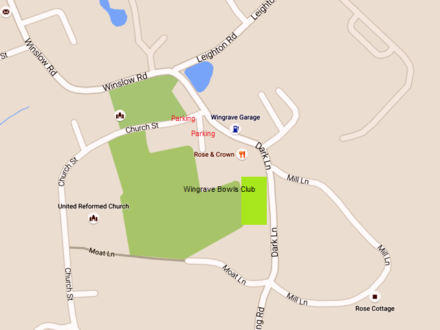 Wingrave Bowls Club How to find us