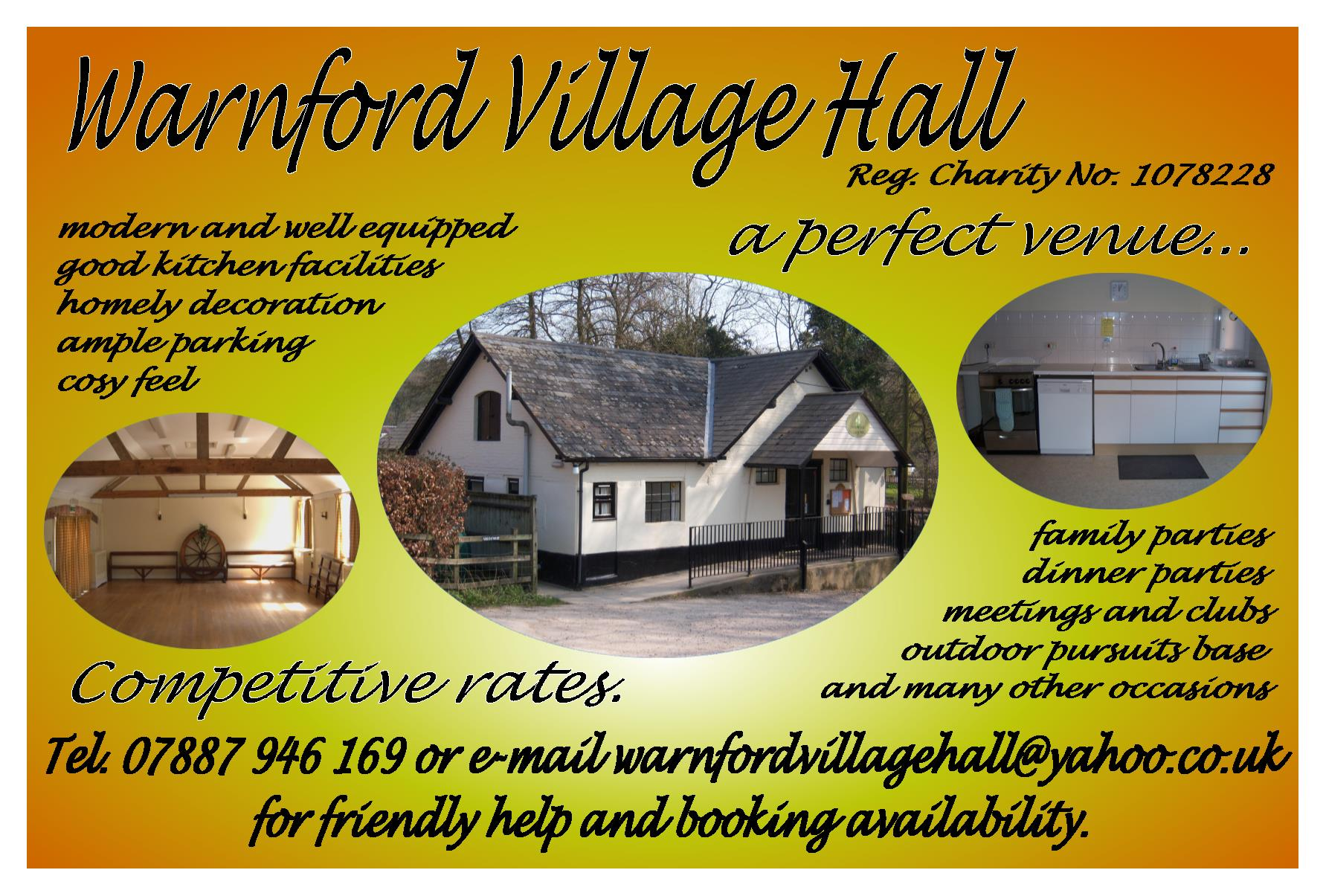 Warnford Village Village Hall