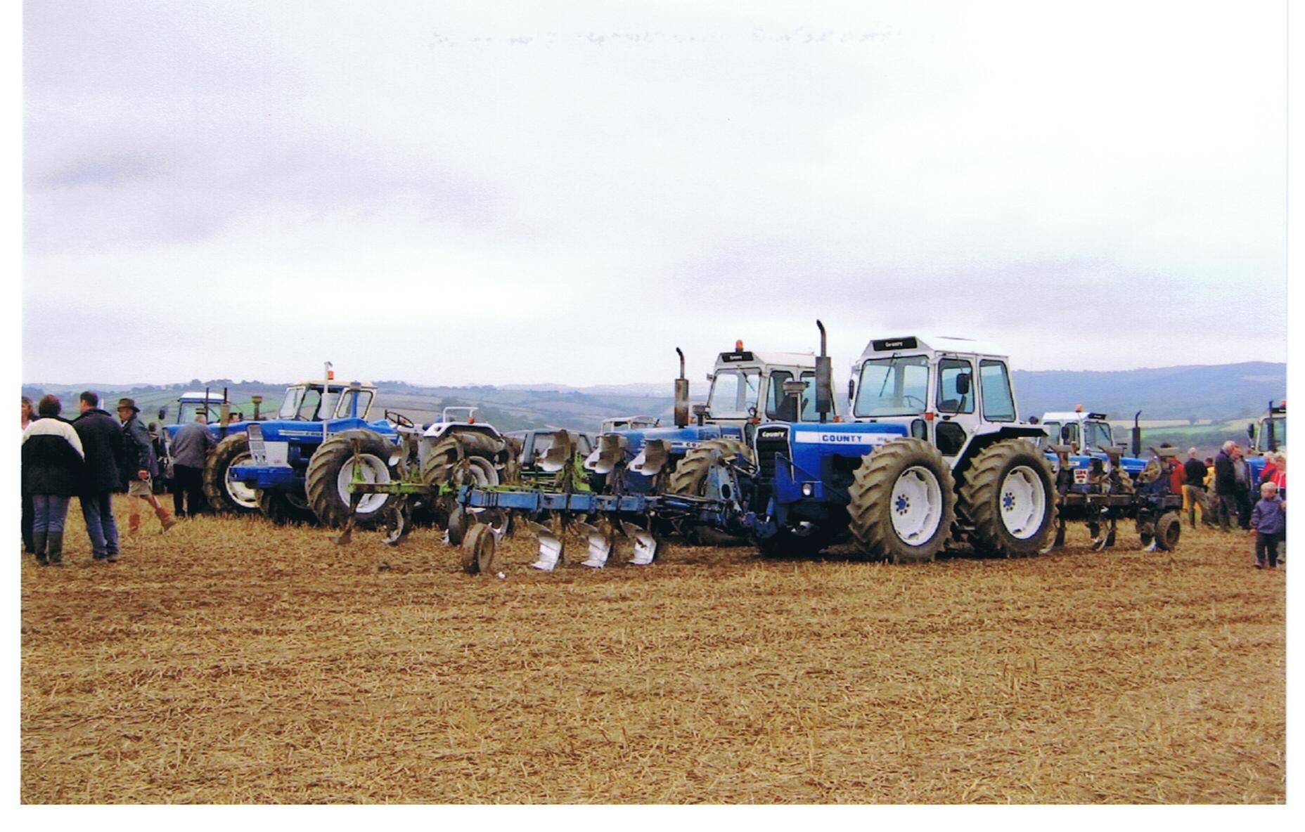 County Commercial tractors on show
