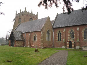 Cound Parish Council About St Peters