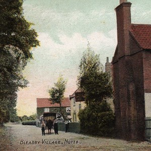Fishermans Rest Inn, Bleasby, c 1900
