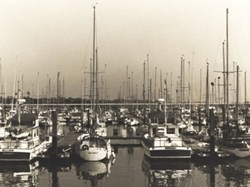 Port Hamble Marina early 1980s