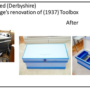 John Armstongs Toolbox, refurbished by Clem Cartledge (Swanwick Shed)