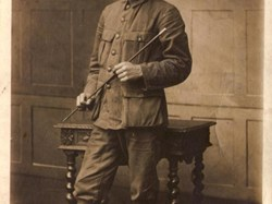 Elodie's brother Firmin stayed in Belgium and fought for his country