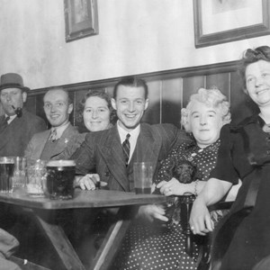 The Bar at Bulls Head 1940