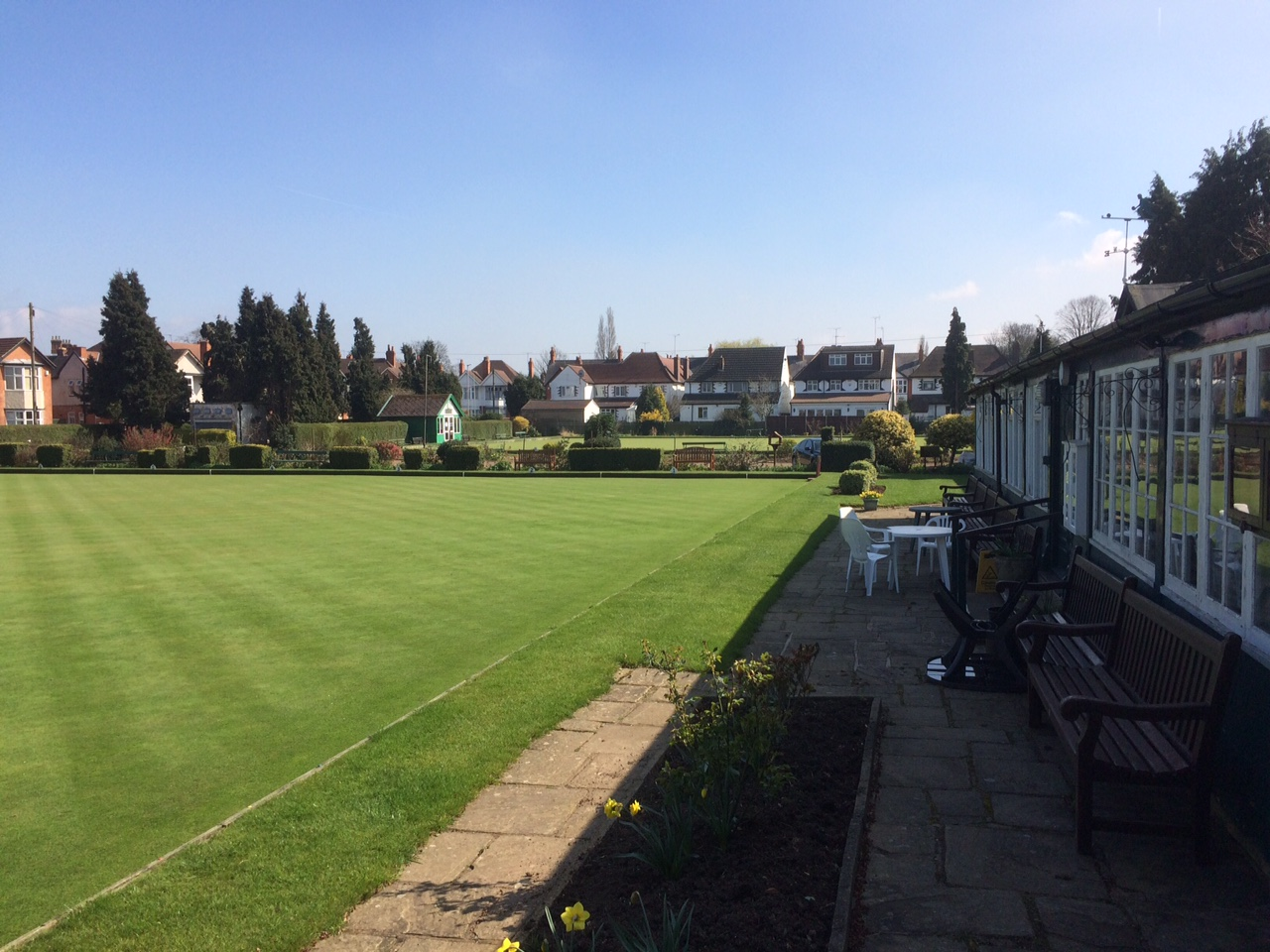 Pavilion and Bowling Greens