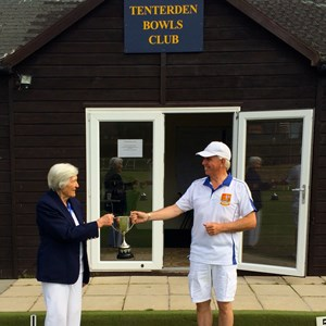 Handicap Singles Winner 2020 - Geoff Witham