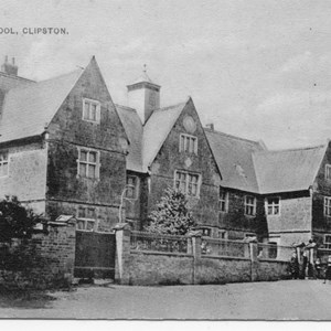 Clipston School prior to 1929
