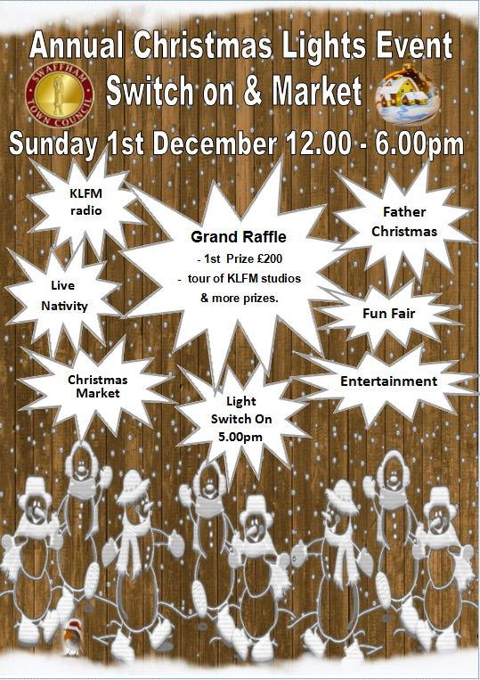 Swaffham Town Council 2019 Christmas Event