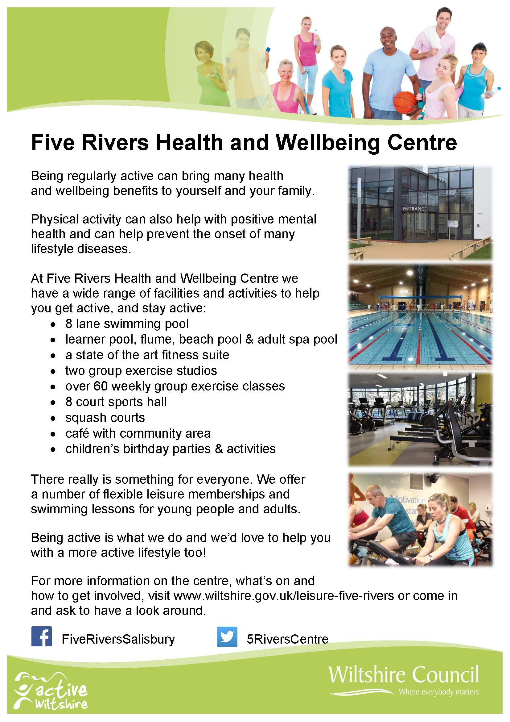 Berwick St James Parish Five Rivers Health and Wellbeing Centre