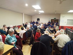 A good turn out for the February social with The QUO