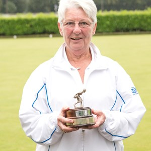 Marcia Ladies singles winner 2016