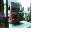 Cliffe Fire Engine Ready for Action