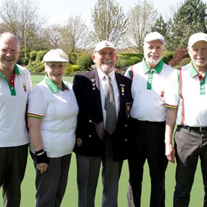 Winter pairs Finalists Neil & Maxeen Fletcher & Brian Ford & Roger Wellstead