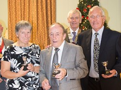 Bob Prince, Jen Ford and Dave Huntley - Runners Up John Geary Trophy