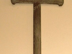 Captain T H C  Woolley's battlefield cross, St John the Baptist Church