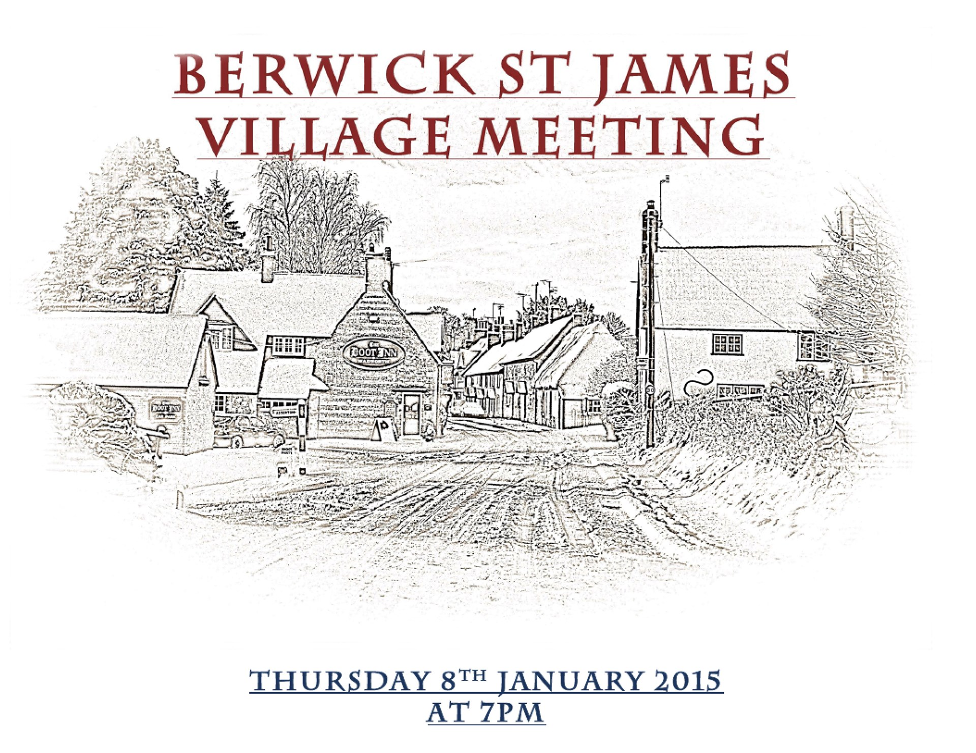 Berwick St James Parish Community 8 January '15