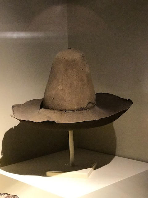 Stephen Hopkins' hat now in Plymouth Museum, MASS, USA