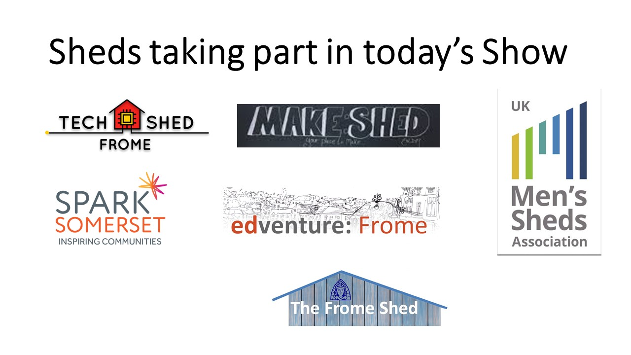 'Shed Happens' - Even if you're self isolating #10-6 16th December 2020(UK Shed Show)