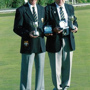 2007 Broadstairs Men's Open Pairs Finalists - Don Jordan & Dave Christmas
