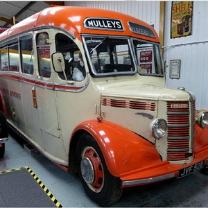 1949 Bedford OB with Duple body