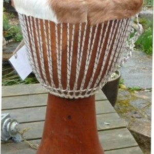 Traditional West African Djembe