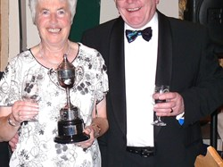 Jan & Eric - Mixed Pairs Winners