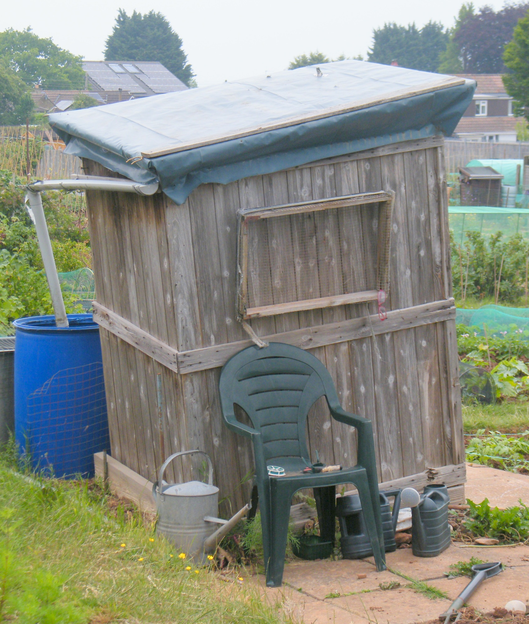 The leaning shed of Portishead