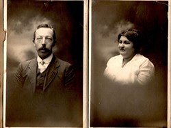 Elodie's parents, Henri and Ludovica Tanghe