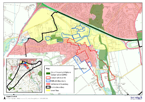 Clatford Parish Council Maps and boundaries relevant to NDP