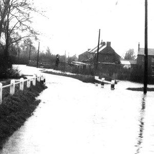 Floods White Arches Bridge Kelmarsh Road
