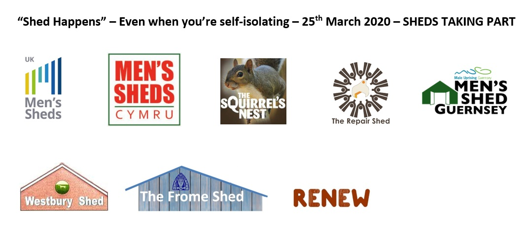 'Shed Happens' - Even if you're self isolating #1 - 25th March 2020