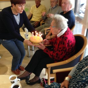 Wishing Eve a happy 99th birthday