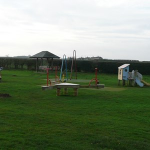 Play equipment for younger visitors