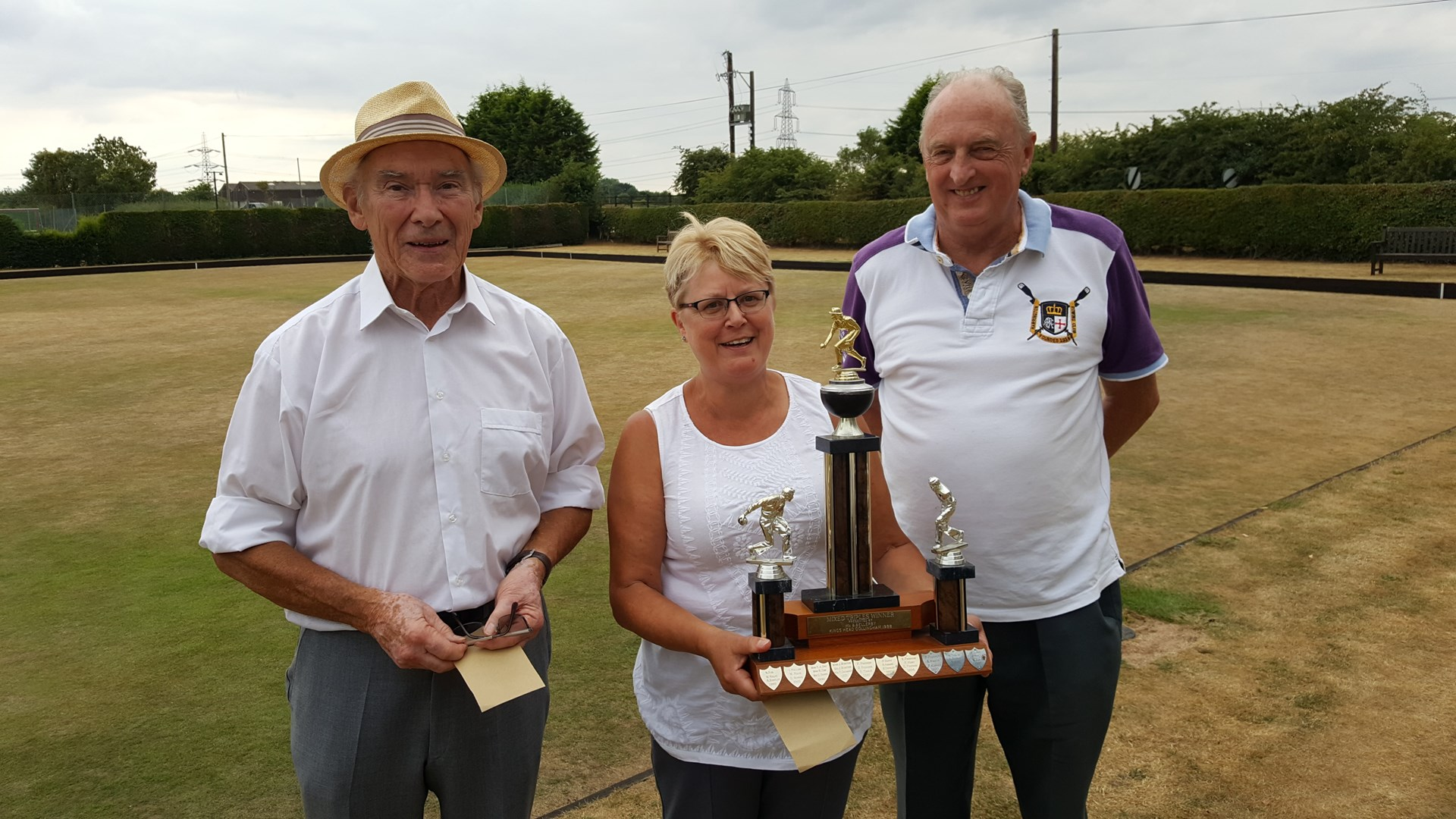 2018 Closed Trips Winners Mike Casterton, Lyn Brown, Chris Garratt