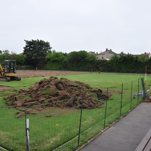 Gosport Bowling Club NEW GREEN CONSTRUCTION-2