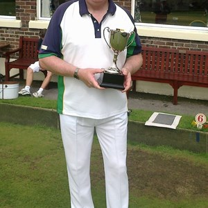 Dave Powe - 2015 Winner - Ivan Robb Trophy Singles Competition for P&D Club Secretaries and Treasurers