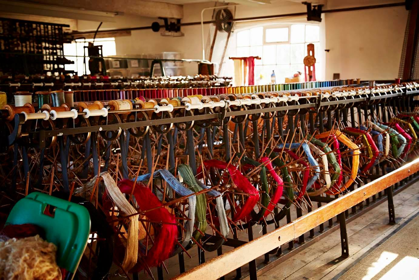Whitchurch Silk Mill Silk Weaving