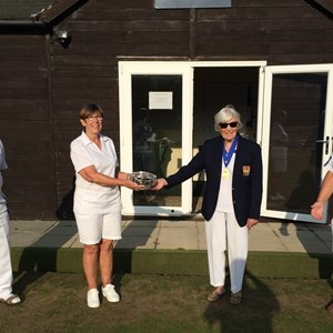 Mixed Triples Winners 2020 - Brian Cochrane & Sue Addis & Terry Pickford
